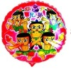 hot selling high quality advertising calabash boys Mylar balloons