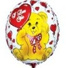 hot selling high quality inflatable oval shape foil balloons