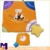 infant blankie,interactive blankie with teether for baby