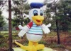 inflatable Donald Duck cartoon