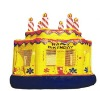 inflatable cake castle