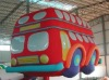 inflatable car model for bus dispaly