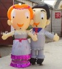 inflatable cartoon-Mr.and Mrs.Smith