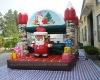 inflatable christmas bouncer