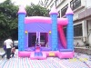 inflatable combo/pink combo/inflatable castle