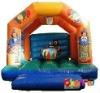 inflatable funny zany bouncer