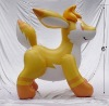 inflatable plastic fox toy