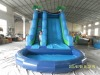 inflatable pool slide,playing center equipment