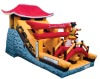 inflatable slides, summer games;bouncy slide