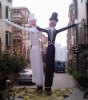 inflatable wedding air dancer