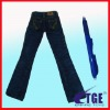 latest design and hot 1/6 toy jean pants