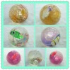 led light glisten twinkle rubber water ball toy rubber bouncy balls