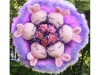 lovely animal Bouquet doll toy frog