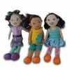 lovely doll for girls, plush stuffed kids toy