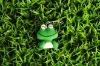 lovely phone frog decoration