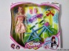 lovely plastic Doll toy