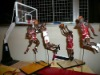 lovely plastic NBA player figures