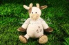 lovely plush animal toy cow