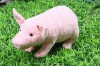lovely plush animal toy pig