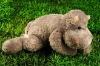 lovely  plush stuffed cartoon dog