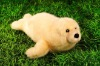 lovely plush stuffed seal