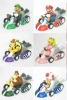 mario bros kart toys 6in1 kit