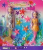 mermaid doll, doll set