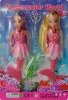 mermaid doll, doll set