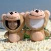 mini 3d photo face doll bear shape