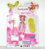 mini doll toy with play set