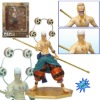 (moq $300) 30cm god enel face transplant one piece japanese anime cartoon figure statue (pc)