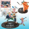 (moq $300) 7-12cm buggy one piece japanese anime cartoon collectible figure (pc)