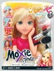 moxie girls half doll with cosmetic toys