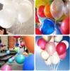 natual latex round balloons