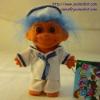 navy troll doll