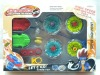 new pull metal spinning top toy