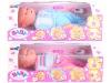 plastic B/O functional baby doll