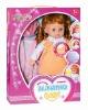 plastic baby doll(soft,plastic &cotton,14 inch)