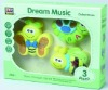 plastic baby music rattle toys