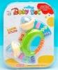 plastic baby rattle toy