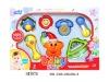 plastic baby rattles toy H47875