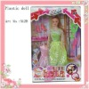 plastic beautiful custom made dolls for sale