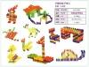 plastic building blocks toy for kid