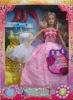 plastic doll, accessories