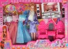 plastic doll, beauty doll set