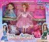 plastic doll, family doll set