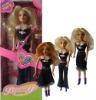 plastic doll, girl's doll