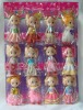 plastic doll, mini doll