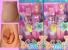 plastic doll, pregnant women
