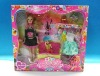 plastic doll set